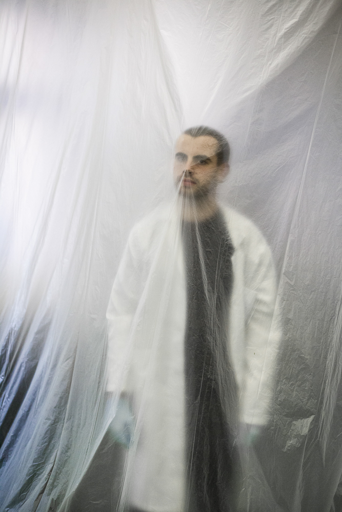 Daniel Parnitzke with Labcoat