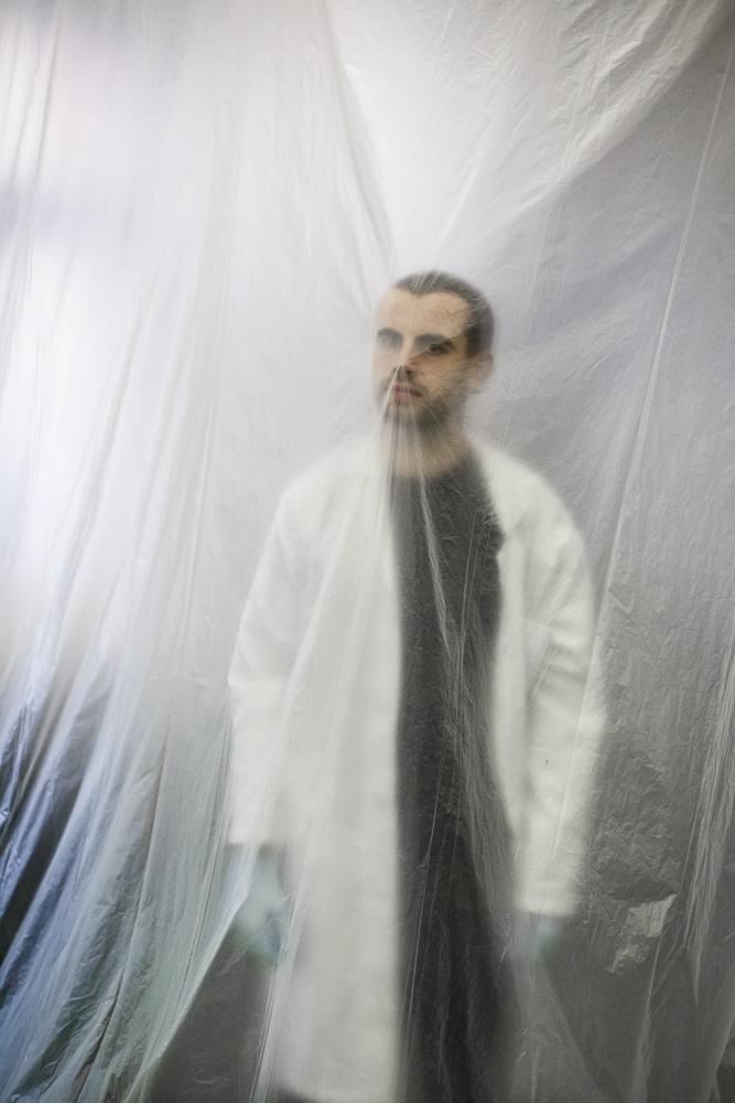 Daniel Parnitzke with Labcoat